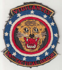 Wartime 34th Tactical Fighter Group Patch, Aviation Insignia, Vigilantes