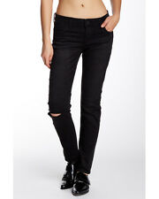 $88 NEW KUT From The Kloth Rip & Repair Catherine Boyfriend Jean in Black Size 8