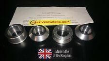 Yamaha R1 2002 - 2003 Superbike captive wheel Spacers. Full wheel set.