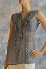NWT Kohls APT 9 Sz L Tunic Lightweight Sheer Silky Polyester Blouse Shirt Top