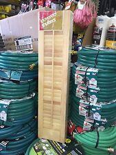 "Wood Shutters 8""x21"" (4 Per Pkg)."