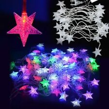 5M LED Pentagram String Fairy Lights Christmas Wedding Party Outdoor Decor Lamp