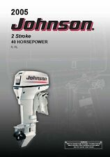 Johnson Outboard Owners Manual 2005 2-Stroke / 40 HP / Model R, RL