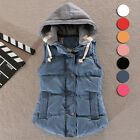Lady's Stylish Waistcoat Women Hooded Vest Coat Winter Cotton Coat New XM0017