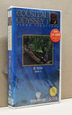 IL NILO parte 1° [vhs, the cousteau odyssey 1, video treasures, warner]