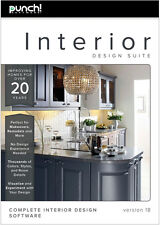 Punch! Interior Design Suite v18 for Windows PC NEW!