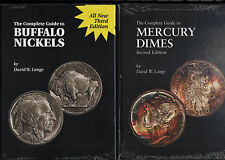 Pair of Guides To BUFFALO NICKELS + MERCURY DIMES by David Lange 2 NEW Books