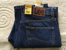 "Men's Lee Brooklyn regular fit straight leg zip fly blue jeans W 34"" L 30""  BNWT"