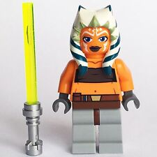 LEGO STAR WARS AHSOKA TANO ASHOKA NEW JEDI FROM SETS 8037 FROM CLONE WARS SERIES