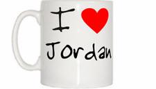 I Love Heart Jordan Mug