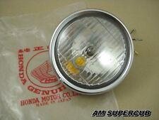 NOS Honda C50 C65 C70 C90 HEADLIGHT LIGHT LAMP STANLEY 6V. Genuine Japan