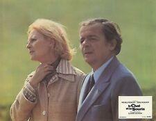 MICHELE MORGAN SERGE REGGIANI LE CHAT ET LA SOURIS 1975 PHOTO D'EXPLOITATION N°6
