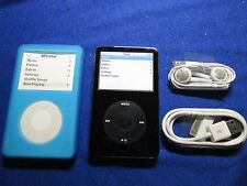 Apple iPod classic 5th Generation Black (30GB) Refurbished With Bundle