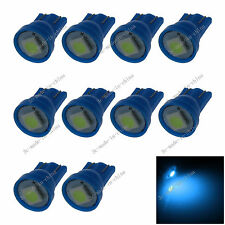 10X Ice Blue 1 SMD 5050 LED T10 W5W Wedge Side Light Car Bulb Lamp 464 280 20004