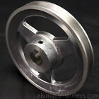 "Aluminium V Pulley 1 Groove A / SPA Section 6.1/2"" - 10.0"" / 160mm - 250mm"