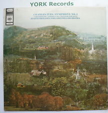 72683 - CHARLES IVES - Symphony No 1 ORMANDY Philadelphia Orch - Ex LP Record