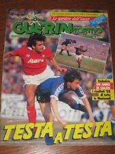 GUERIN SPORTIVO=N°6 1989=POSTER LECCE=IL MONACO=HYSEN=TIFO LAZIO