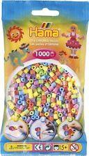 Hama - 207-50 -Sachet 1000 Perles à repasser Pastel Mixte