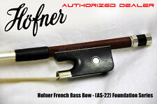 Hofner AS22 French 3/4 Double Bass Bow - (AS-22) - Authorized Dealer