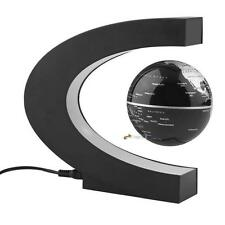 Anti-Gravity C shape Magnetics Levitating Worlds Map Globe LED Light Floating LN