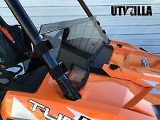 RZR Tinted Half Windshield  900, 1000, Turbo Polaris Polycarbonate UTVZILLA