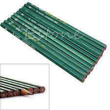 1 Set 10Pcs Wood Pencils HB Wooden For Home Office School Students Children New