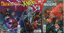 INFERNO X-MEN 92 AGE OF APOCALYPSE 1 RARE HASTINGS CONNECTING VARIANT SET OF 3