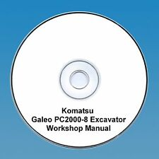 Komatsu pc 2000-8 excavateur workshop manual