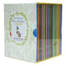 The Complete Peter Rabbit Library - 23 Hardcover Book Collection Beatrix Potter