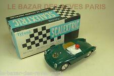 SCALEXTRIC. PORSCHE MM / C 61.  + Boite.   slot car  ancien vintage