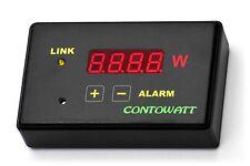 CONTOWATT Wattmetro wireless con allarme acustico sovraccarico programmabile