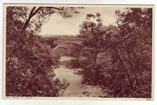 Twa Brigs O' Doon Ayr Greys Cigarette Postcard Series 2 Of 48 Old Postcard