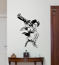 Star Wars Wall Decal Princess Leia Movie Vinyl Sticker Art Decor Mural 165crt