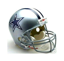 DALLAS COWBOYS RIDDELL NFL FOOTBALL TEAM LOGO DELUXE REPLICA FULL SIZE HELMET