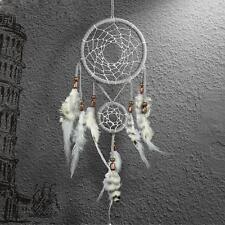 45cm Capteur De Rêves Attrape Dream Catcher Plumes Tenture Suspendus Fenêtre
