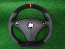 INDIVIDUAL STYLING  Lederlenkrad   BMW E60 / E61 VOR FACELIFT unten abgeflacht ,