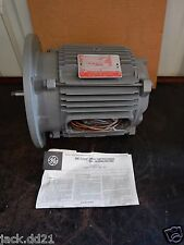 NEW General Electric GE Tri Clad Induction Motor 1 HP 3 PH 230/460 V 1710 RPM