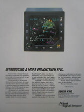 6/1991 PUB ALLIED SIGNAL BENDIX KING EFIS ELECTRONIC HORIZONTAL INDICATOR AD