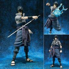 S.H. Figuarts Naruto Sasuke Uchiha Shippuden Action Figurine Figure No Box