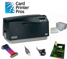 Fargo DTC550 Dual-side PVC ID Card Printer & Supplies Bundle (60 Day Warranty)