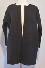 JCrew Collection Bonded Lambswool Sweater Jacket XS Navy