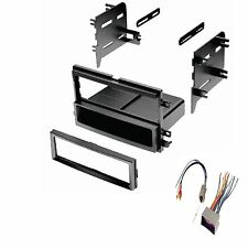 Ford Lincoln Mercury Dash Kit For Single DIN Stereo Install Kit w/ Wire Harness