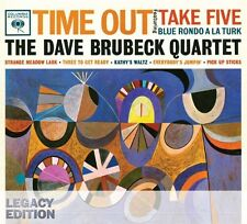 Time Out-50th Anniversary - Dave Brubeck (2009, CD NEU) Legacy ED.3 DISC SET