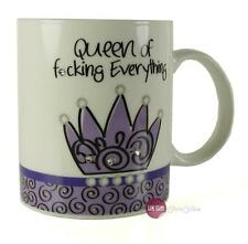 Tall Chic Diamante Queen Of Everything Mug Gift For Her MU3302