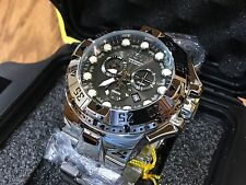 13082 Invicta Reserve 50mm Men's Excursion Swiss Quartz Chrono SS Bracelet Watch