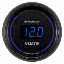 "AutoMeter 2-1/16"" Cobalt Digital Series Voltmeter Gauge * 6993 *"