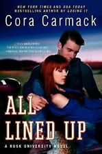 All Lined Up: A Rusk University Novel-ExLibrary