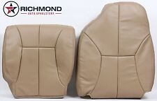 1999 Dodge Ram 3500 SLT Dually Quad-Driver Side Complete Leather Seat Covers Tan