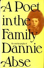 Abse, Dannie A POET IN THE FAMILY 1974 Hardback BOOK