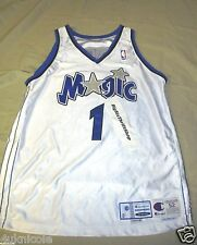 Authentic Tracy McGrady Orlando Magic Champion Pro Cut Jersey 99-2000 Size 52